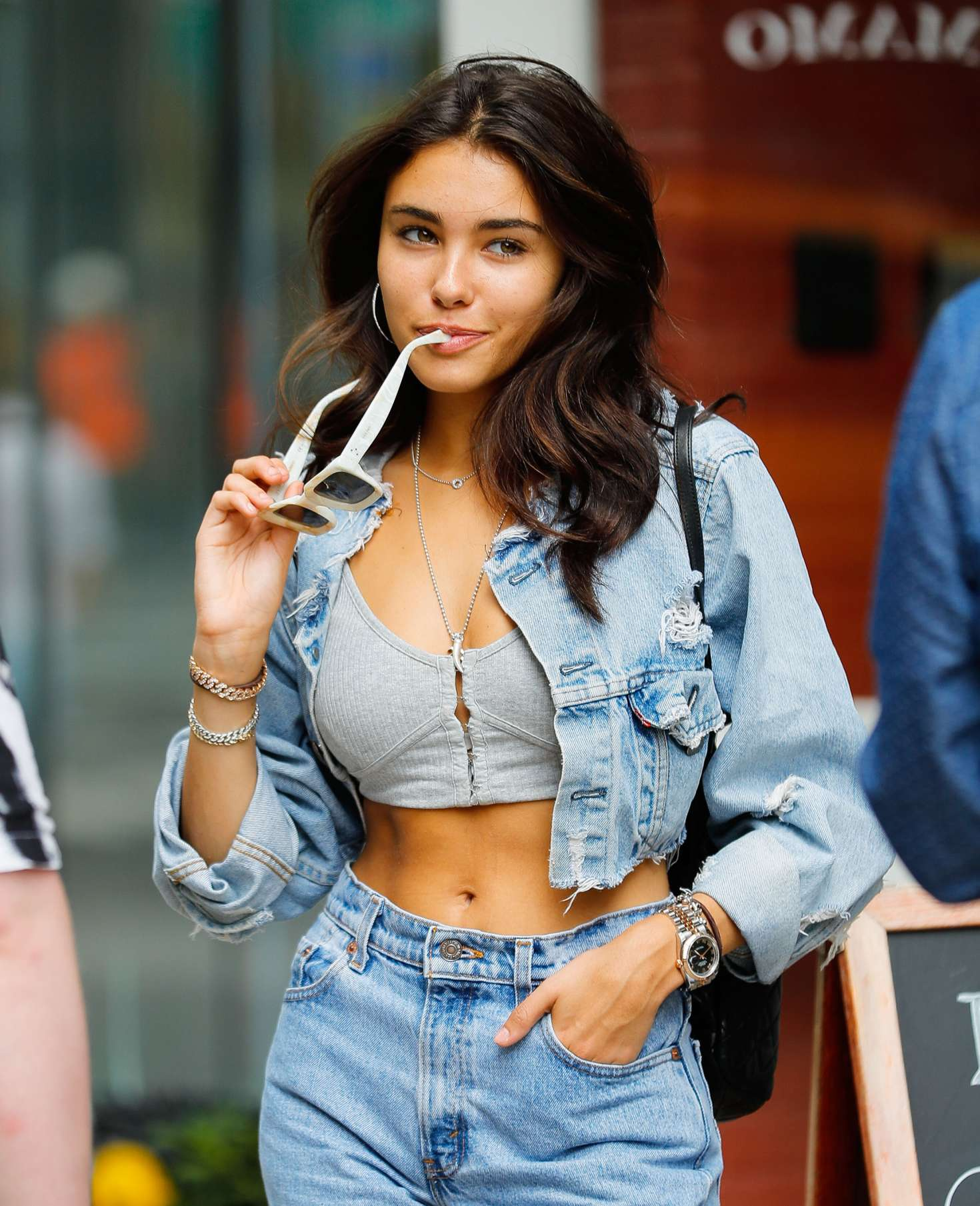 Madison Beer out for lunch in NYC