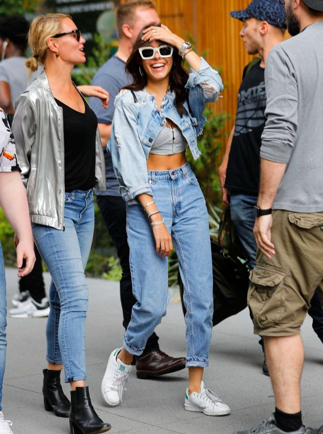 Madison Beer out for lunch in NYC -11