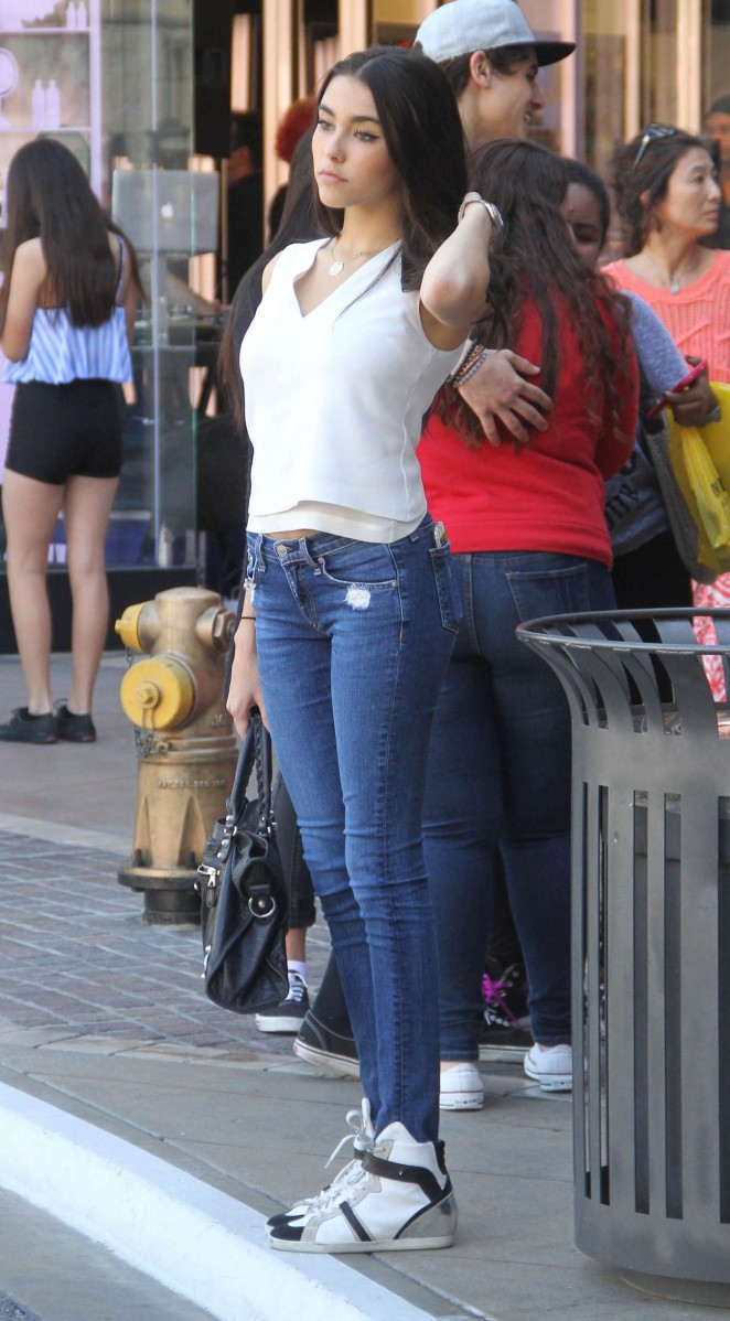 Madison Beer in Tight Jeans out in LA