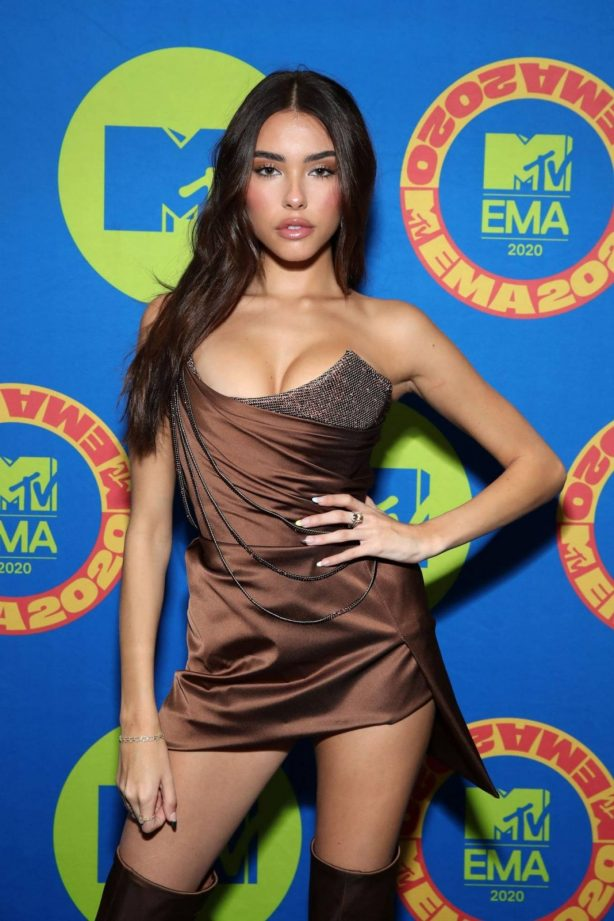 Madison Beer - Possing at the 2020 MTV Europe Music Awards in LA