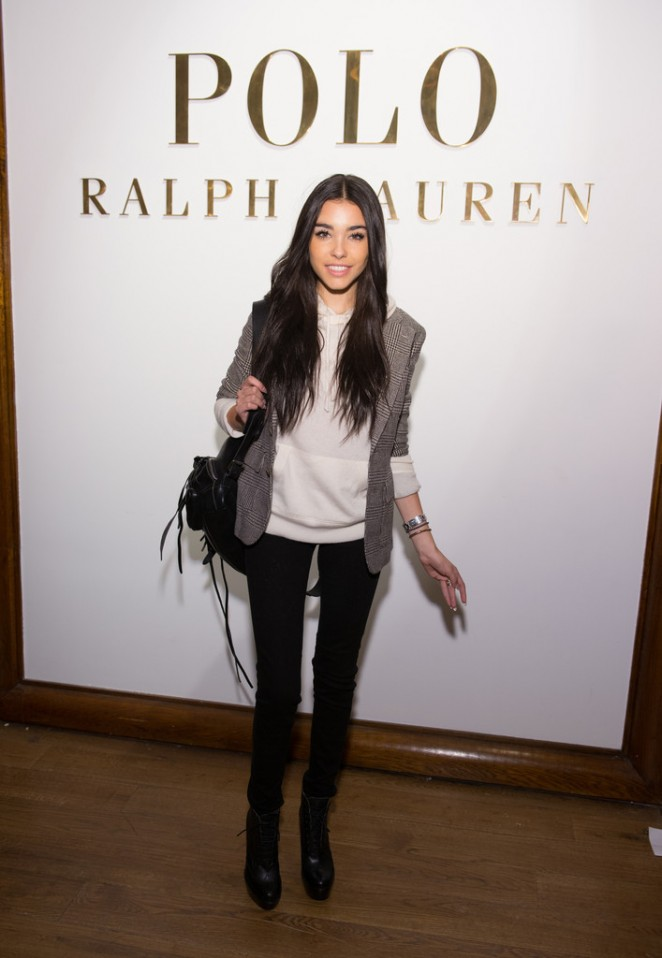 Madison Beer - Ralph Lauren Polo Men & Women Fashion Show 2015 in NYC