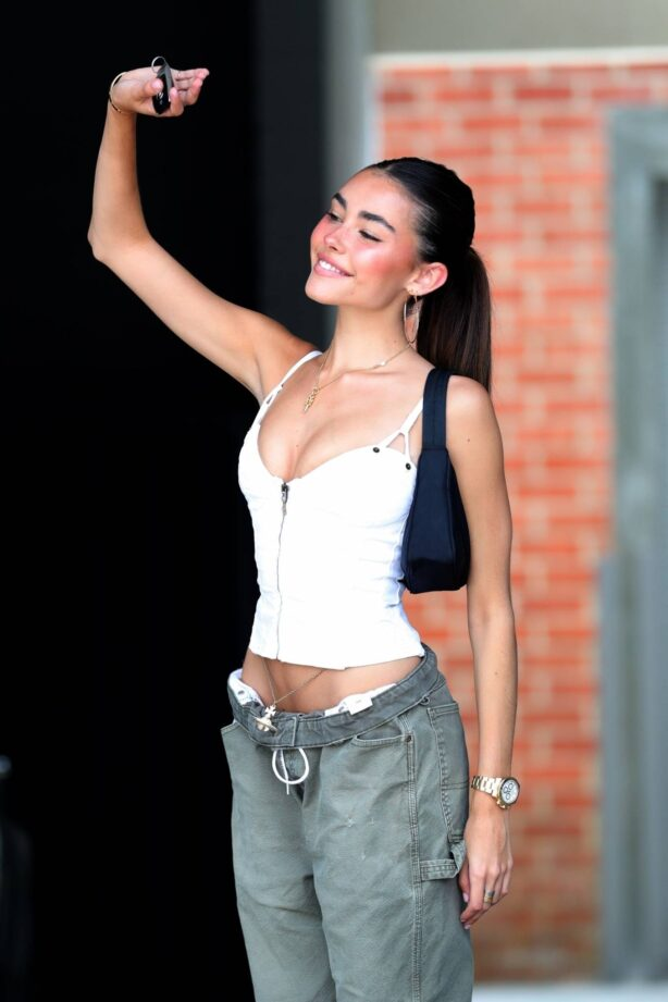 Madison Beer - Seen after interview about her new single RECKLESS in West Hollywood