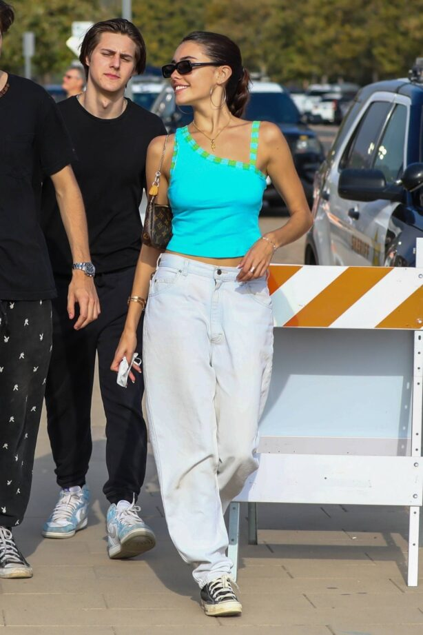 Madison Beer - Seen while she goes to the annual Malibu Chili Cook-Off in Malibu