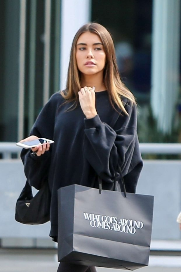 Madison Beer - Shoping Candids At What Goes Around Comes Around In New York