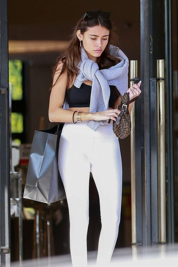 Madison Beer - Shopping at Barneys New York in Beverly Hills