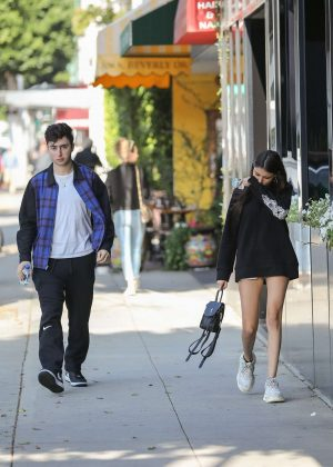 Madison Beer - Shopping in Beverly Hills