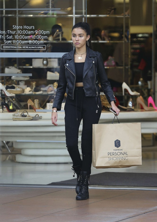 Madison Beer - Shopping in West Hollywood