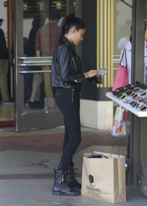 Madison Beer: Shopping in West Hollywood -13