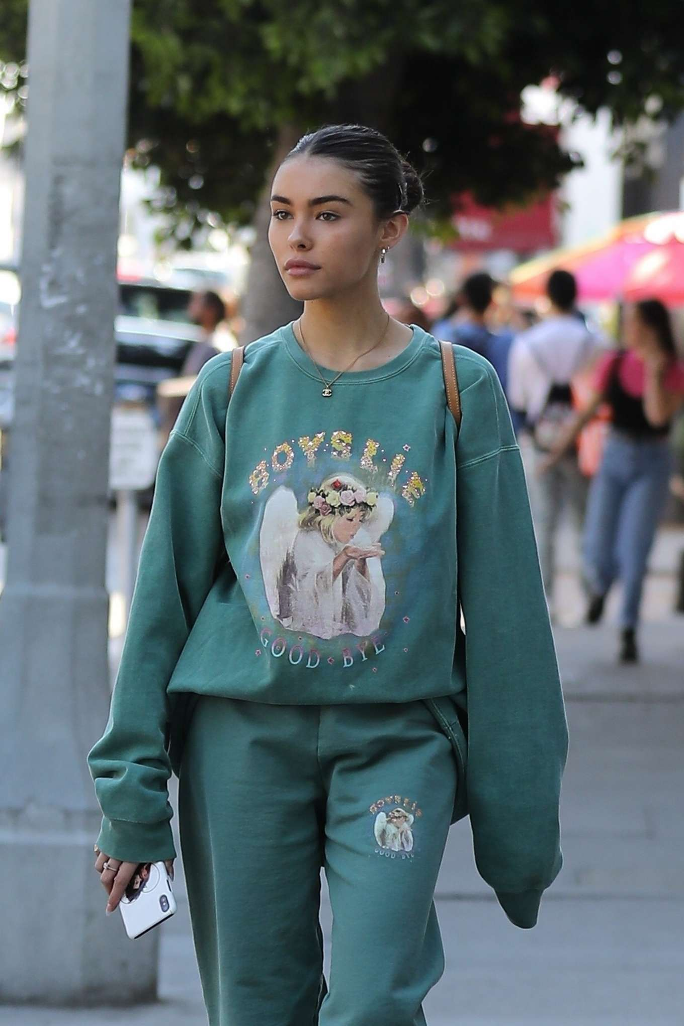 Madison Beer - Shops at a flea market in West Hollywood