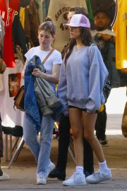 Madison Beer - Shops at a local Flea Market in Los Angeles