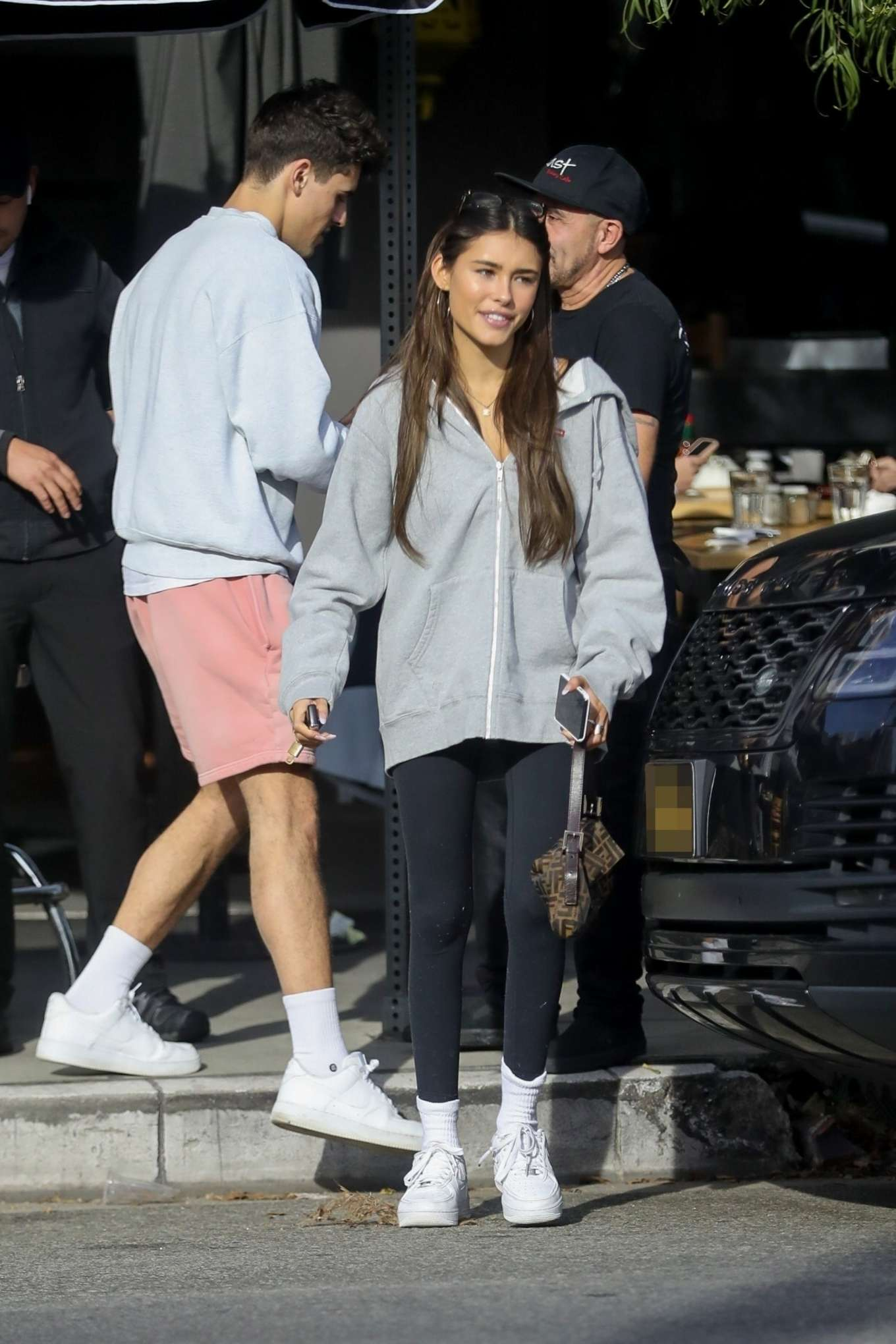 Madison Beer - Spotted at Toast Cafe in West Hollywood