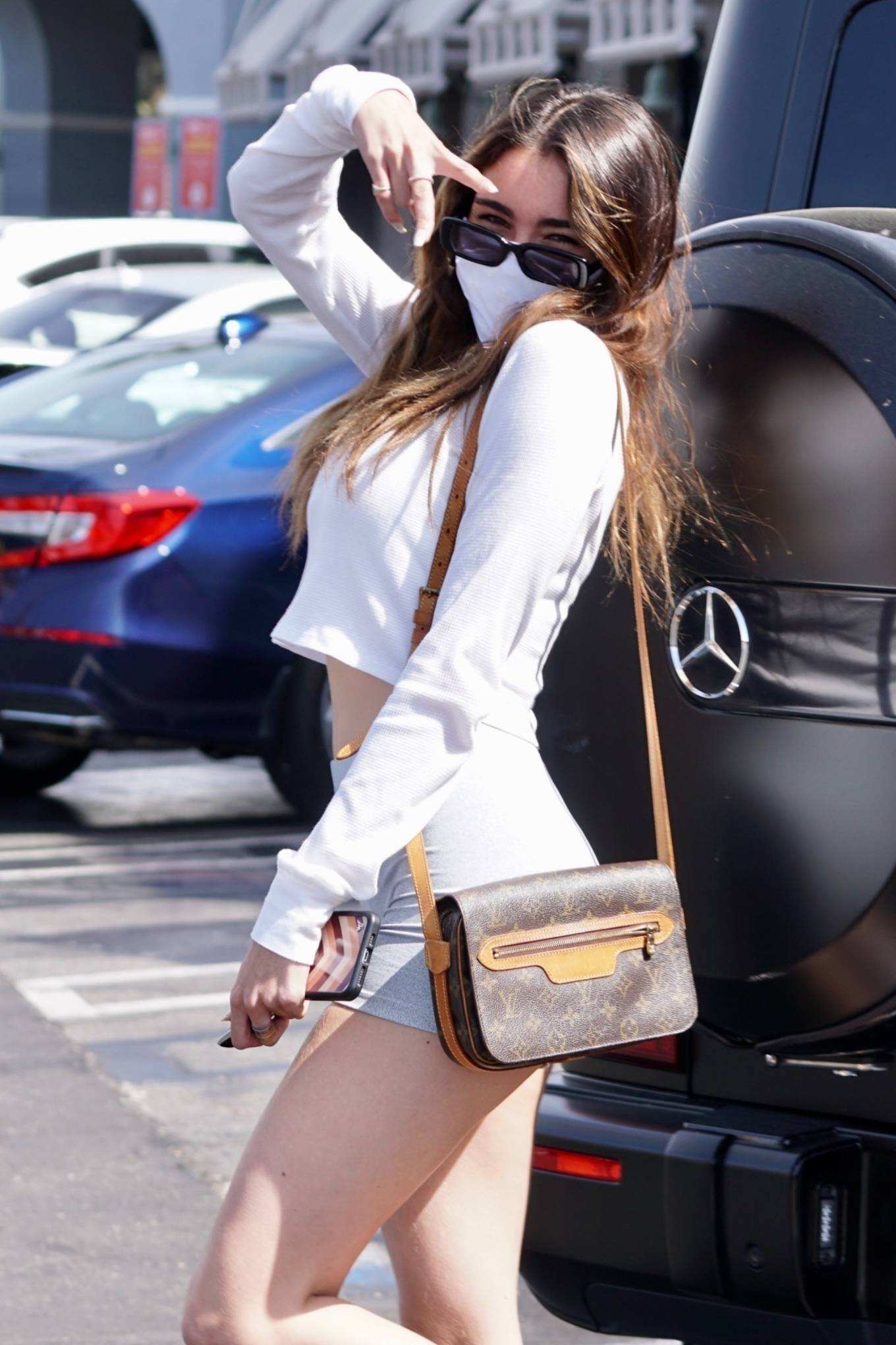 Madison Beer 2021 : Madison Beer – Steps out in West Hollywood-17
