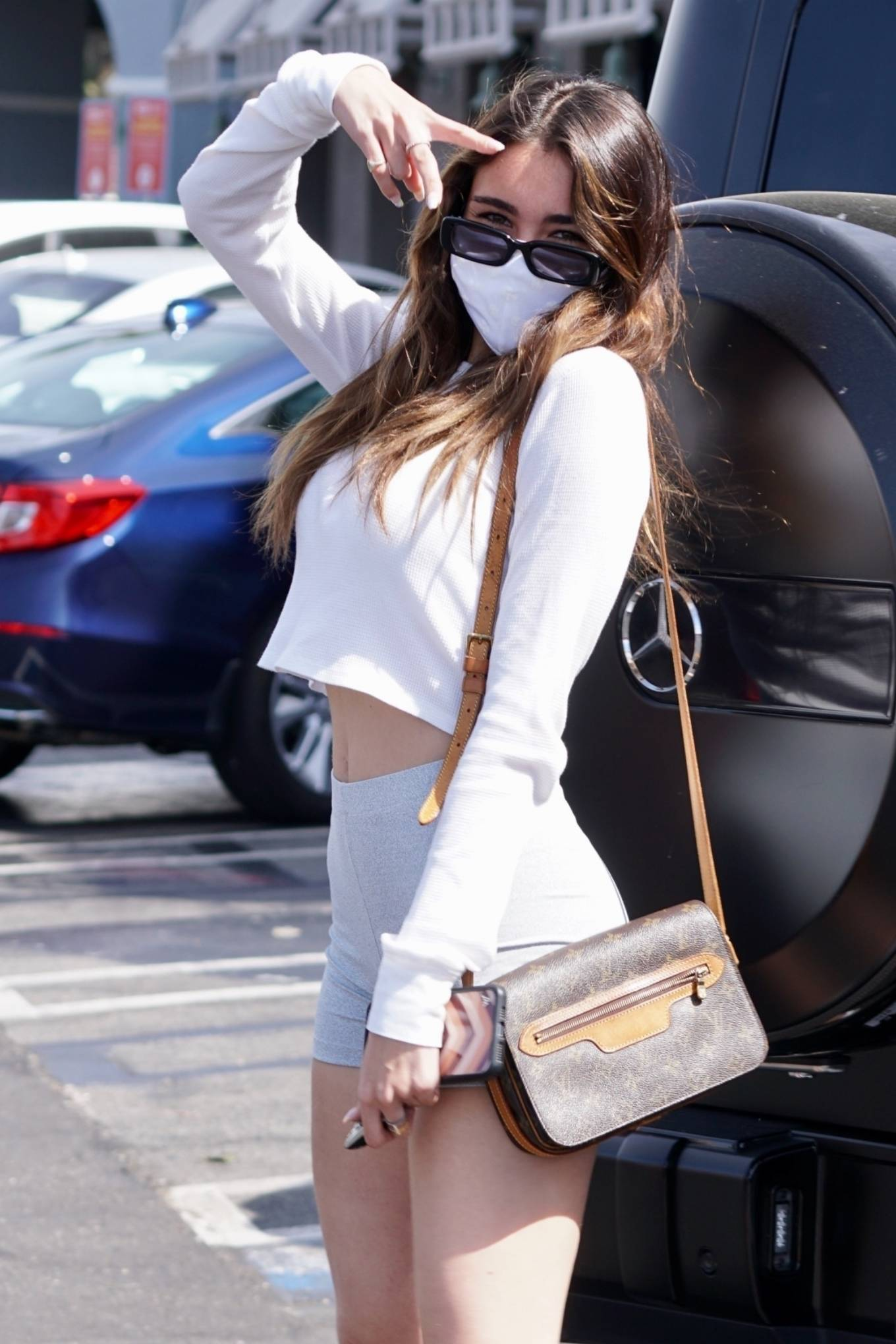 Madison Beer 2021 : Madison Beer – Steps out in West Hollywood-29