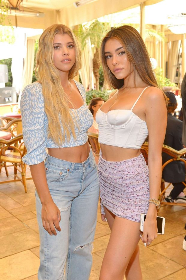 Madison Beer - Talita von Furstenberg in celebrating her first collection for DVF in Hollywood