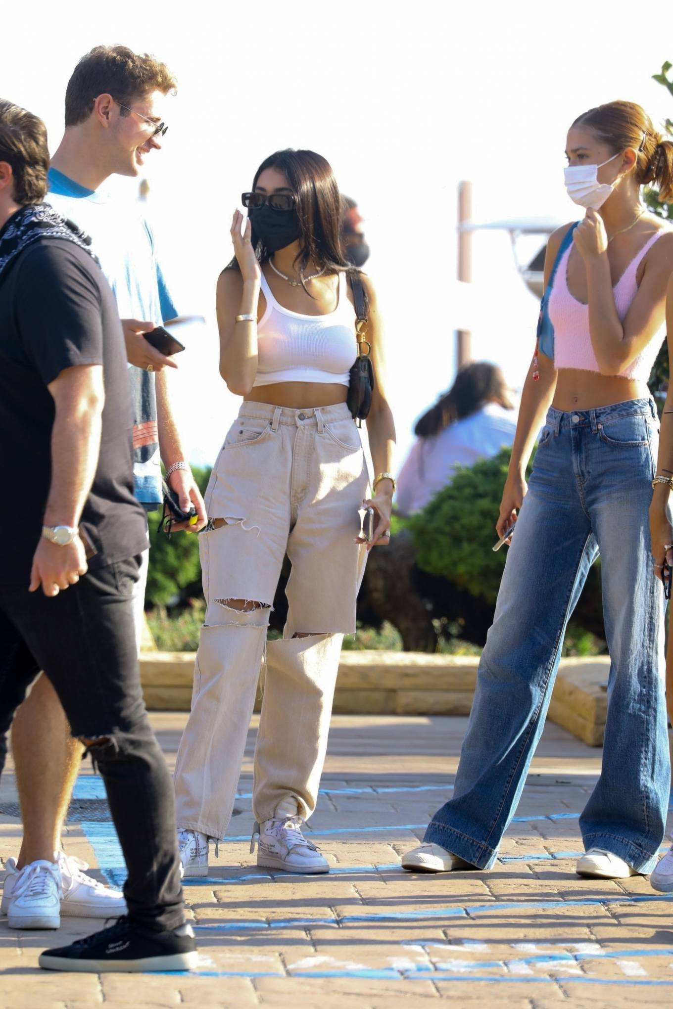 Madison Beer 2020 : Madison Beer – With a group of friends at Nobu in Malibu-02