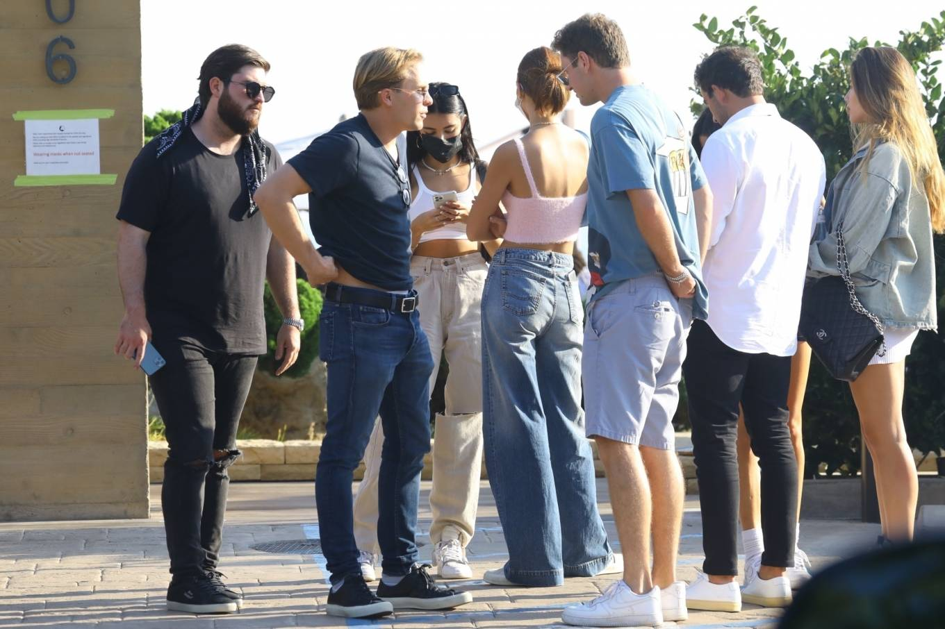 Madison Beer 2020 : Madison Beer – With a group of friends at Nobu in Malibu-09
