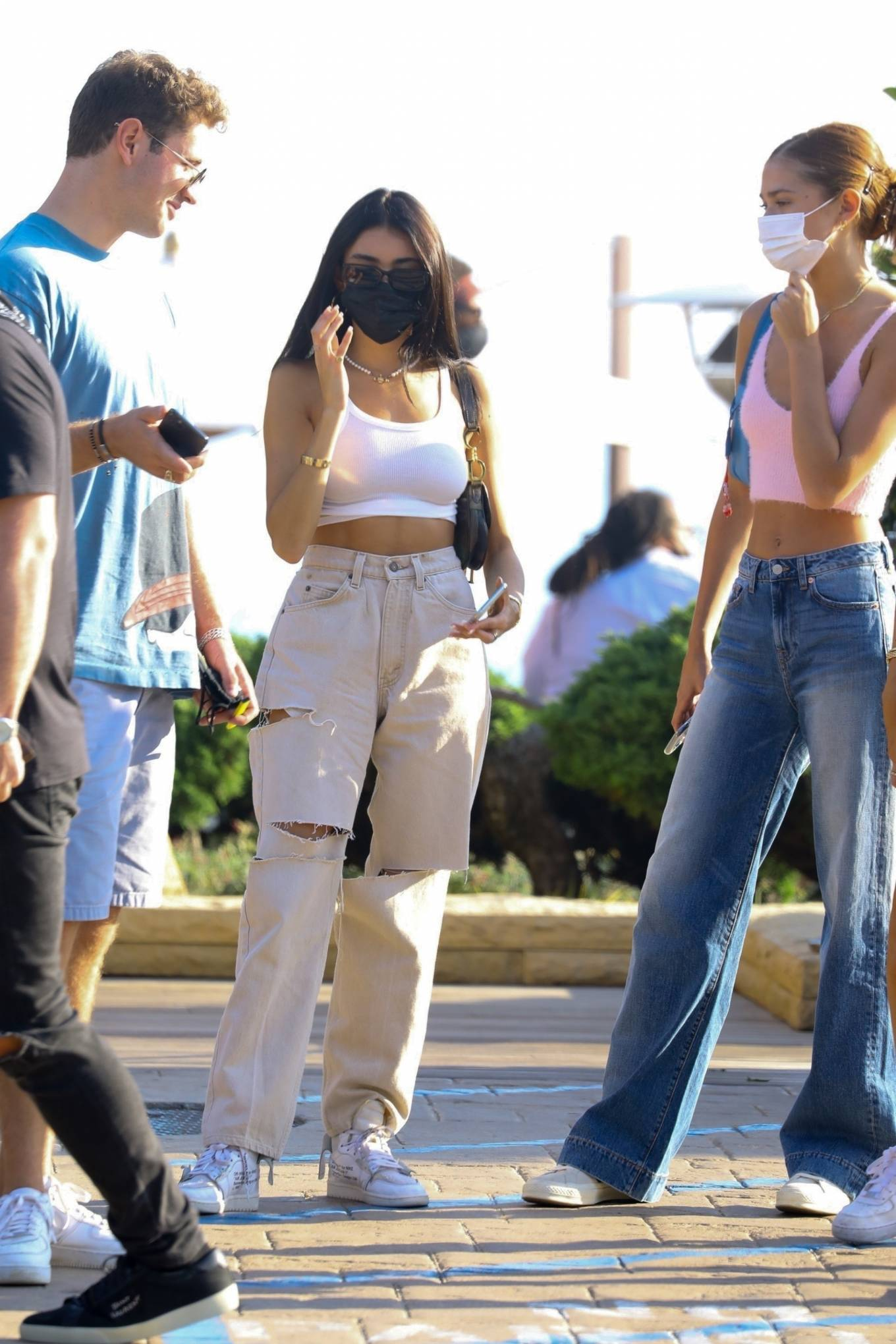 Madison Beer 2020 : Madison Beer – With a group of friends at Nobu in Malibu-10