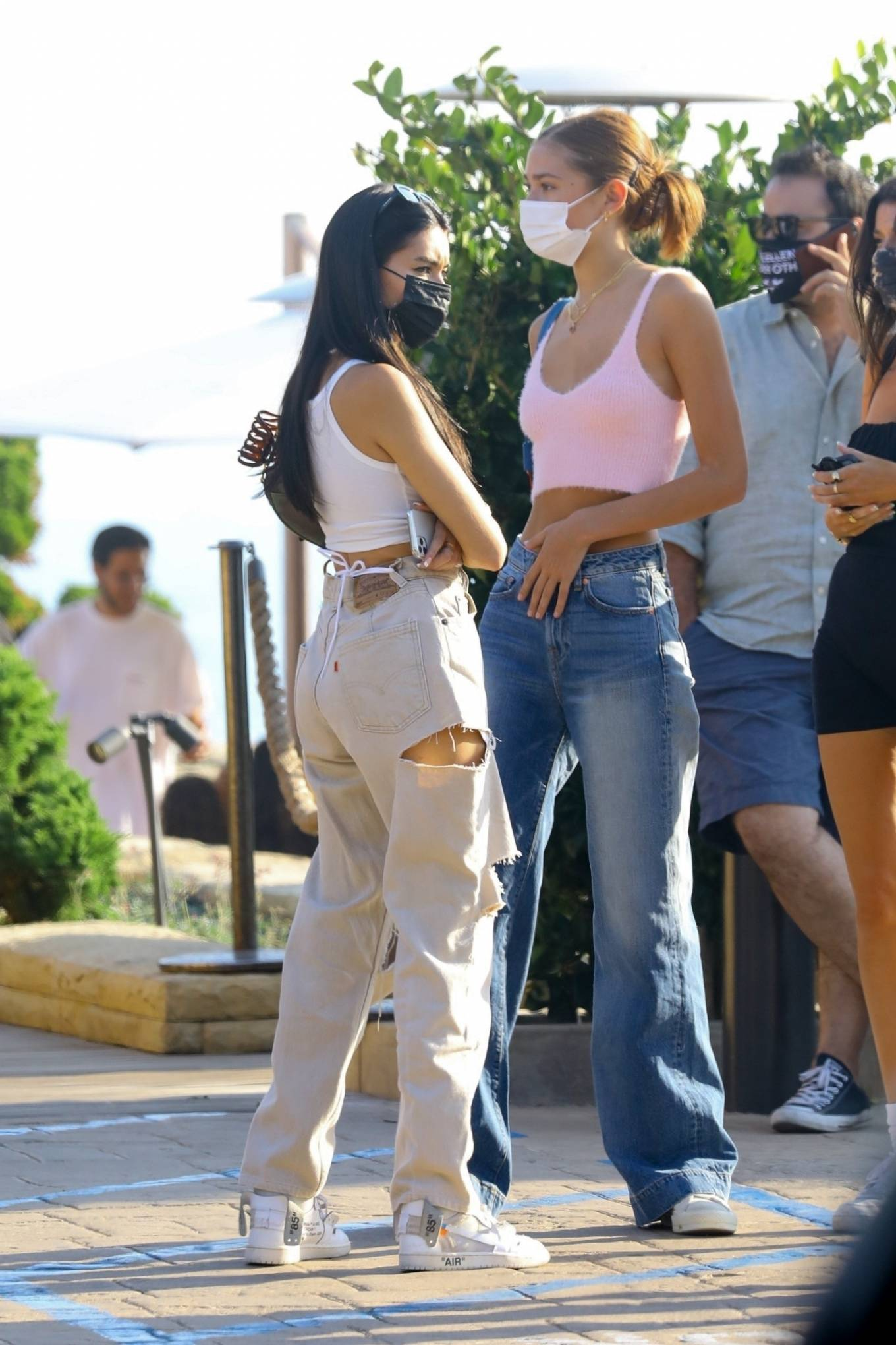Madison Beer 2020 : Madison Beer – With a group of friends at Nobu in Malibu-13