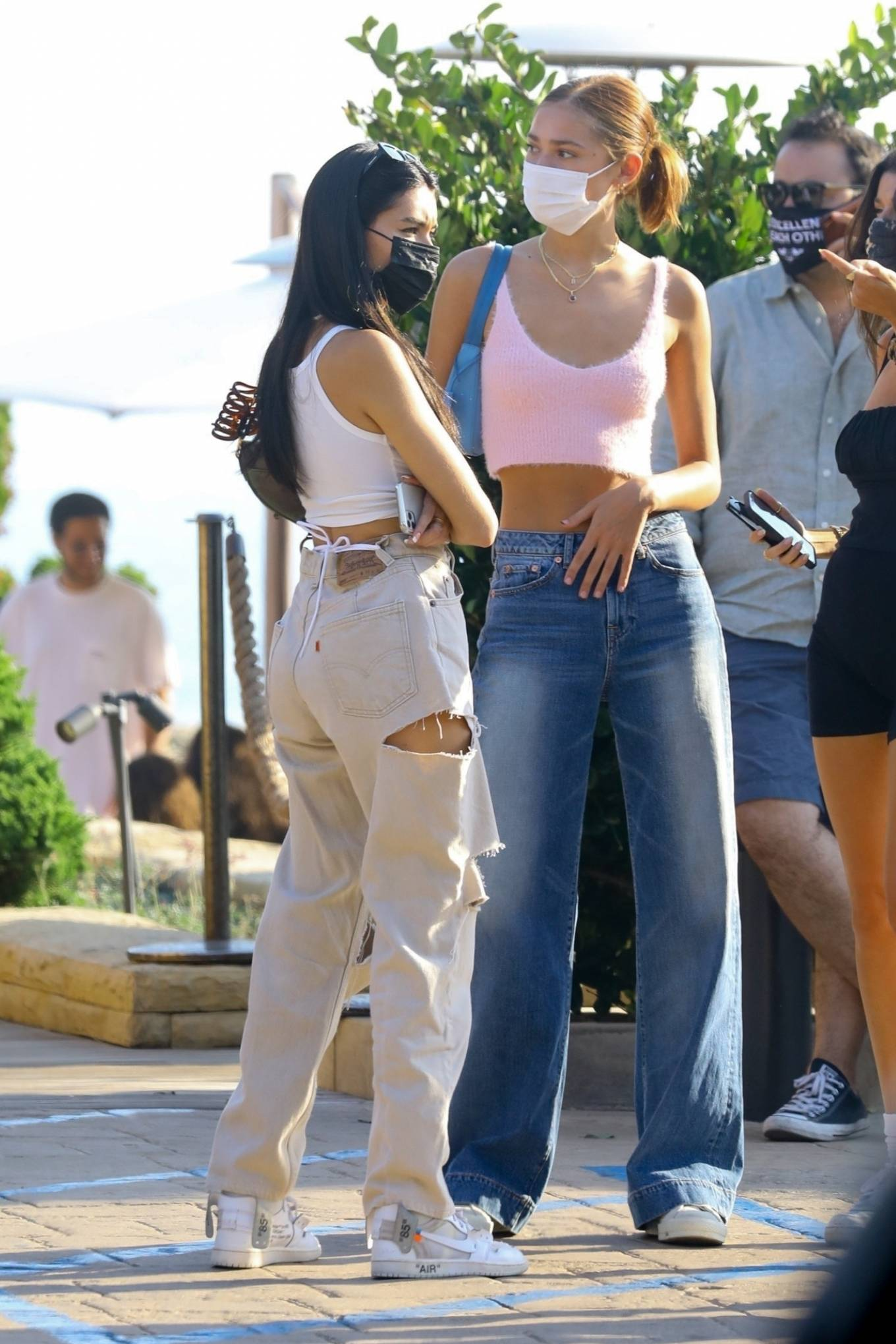 Madison Beer 2020 : Madison Beer – With a group of friends at Nobu in Malibu-14