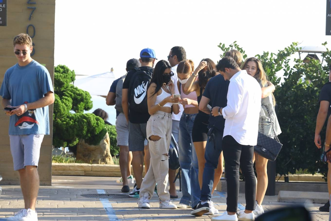 Madison Beer 2020 : Madison Beer – With a group of friends at Nobu in Malibu-15
