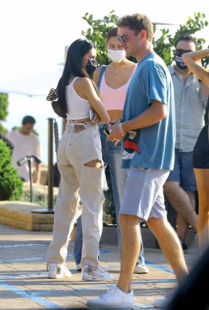 Madison Beer - With a group of friends at Nobu in Malibu