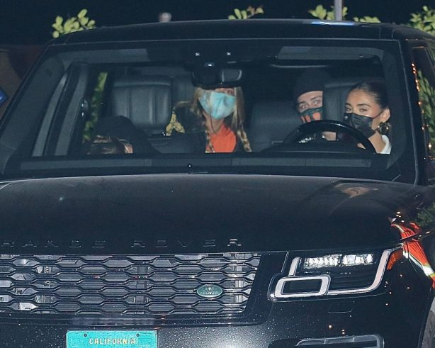 Madison Beer with boyfriend Nick Austin and another couple in Malibu