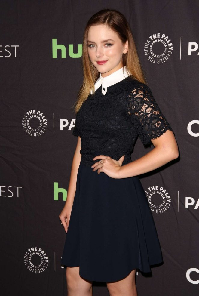 Madison Davenport - Paleyfest 2016 Fall TV Preview in Beverly Hills