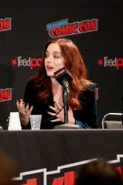 Madison Davenport -Pictured at Reprisal Panel at New York Comic Con 2019 Day 3 in New York