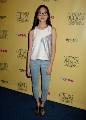 Madison Hu - 'Gortimer Gibbons Life on Normal Street' Premiere in Burbank