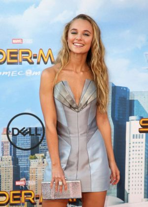 Madison Iseman - 'Spider-Man: Homecoming' Premiere in Hollywood
