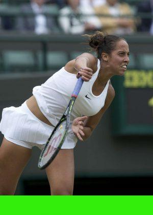 Madison Keys - 4th Round Match 2016 in Wimbledon
