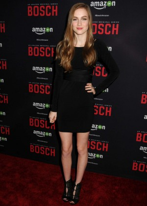 Madison Lintz - 'Bosch' Season 2 Premiere in West Hollywood