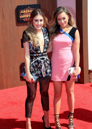Madison Marlow and Taylor Dye - 2016 American Country Countdown Awards in Los Angeles