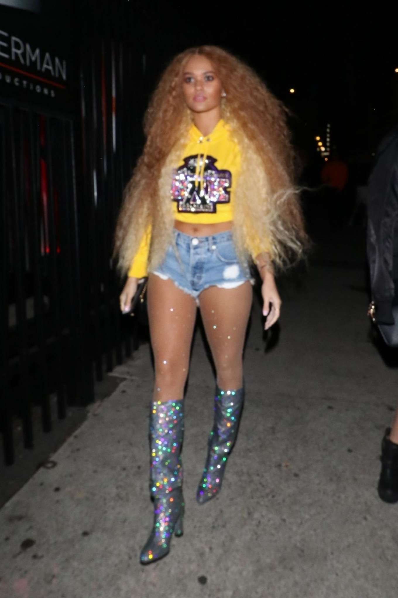 Madison Pettis 2018 : Madison Pettis: Arrives at Just Jareds 7th Annual Halloween Party -02
