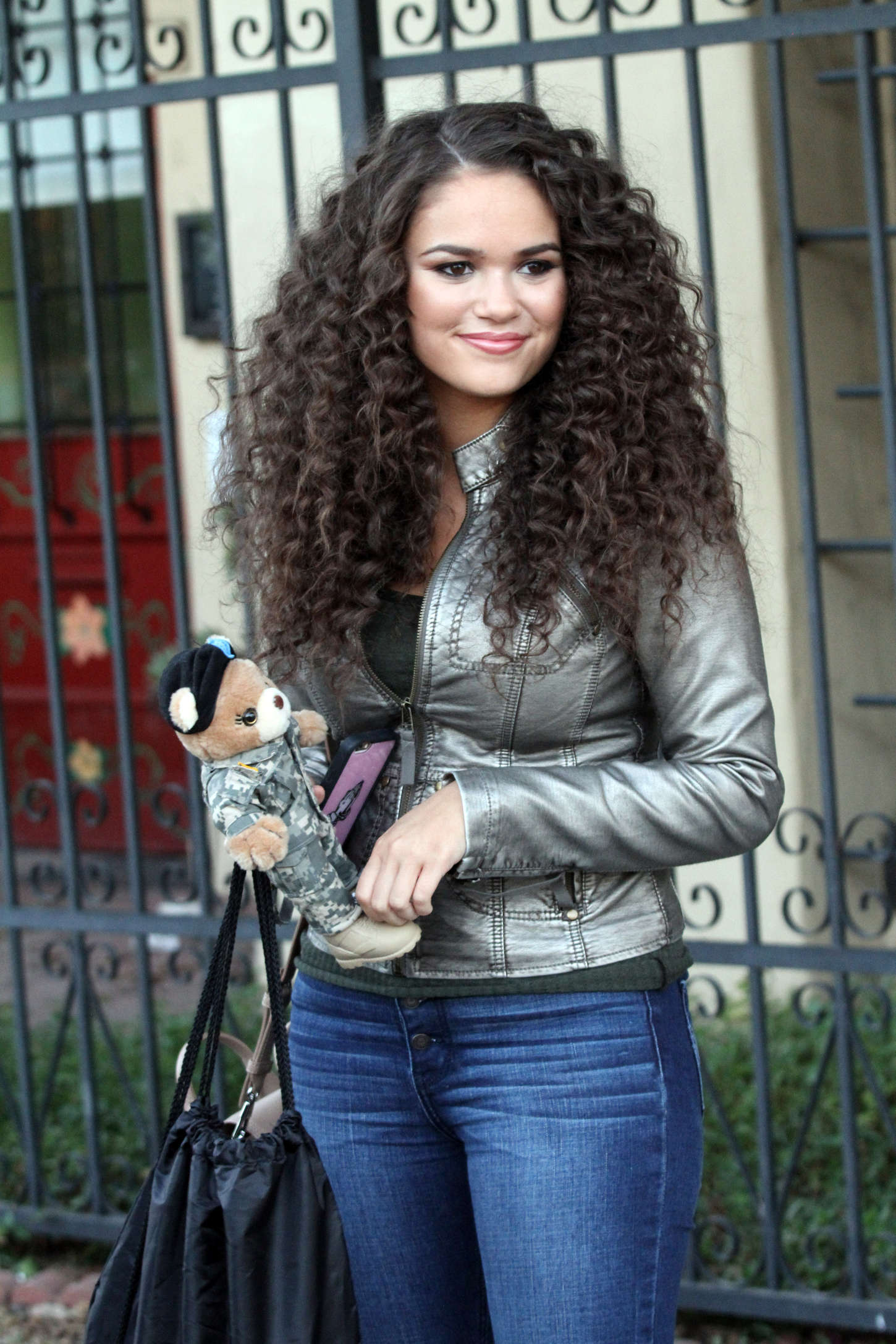 Madison Pettis in Tight Jeans Out in Hollywood
