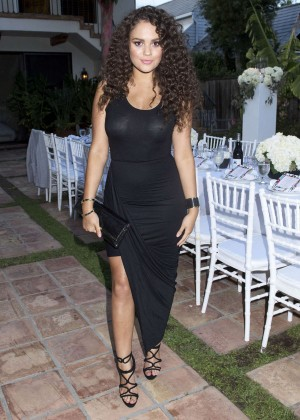 Madison Pettis - Just Jared Dinner Party in Malibu