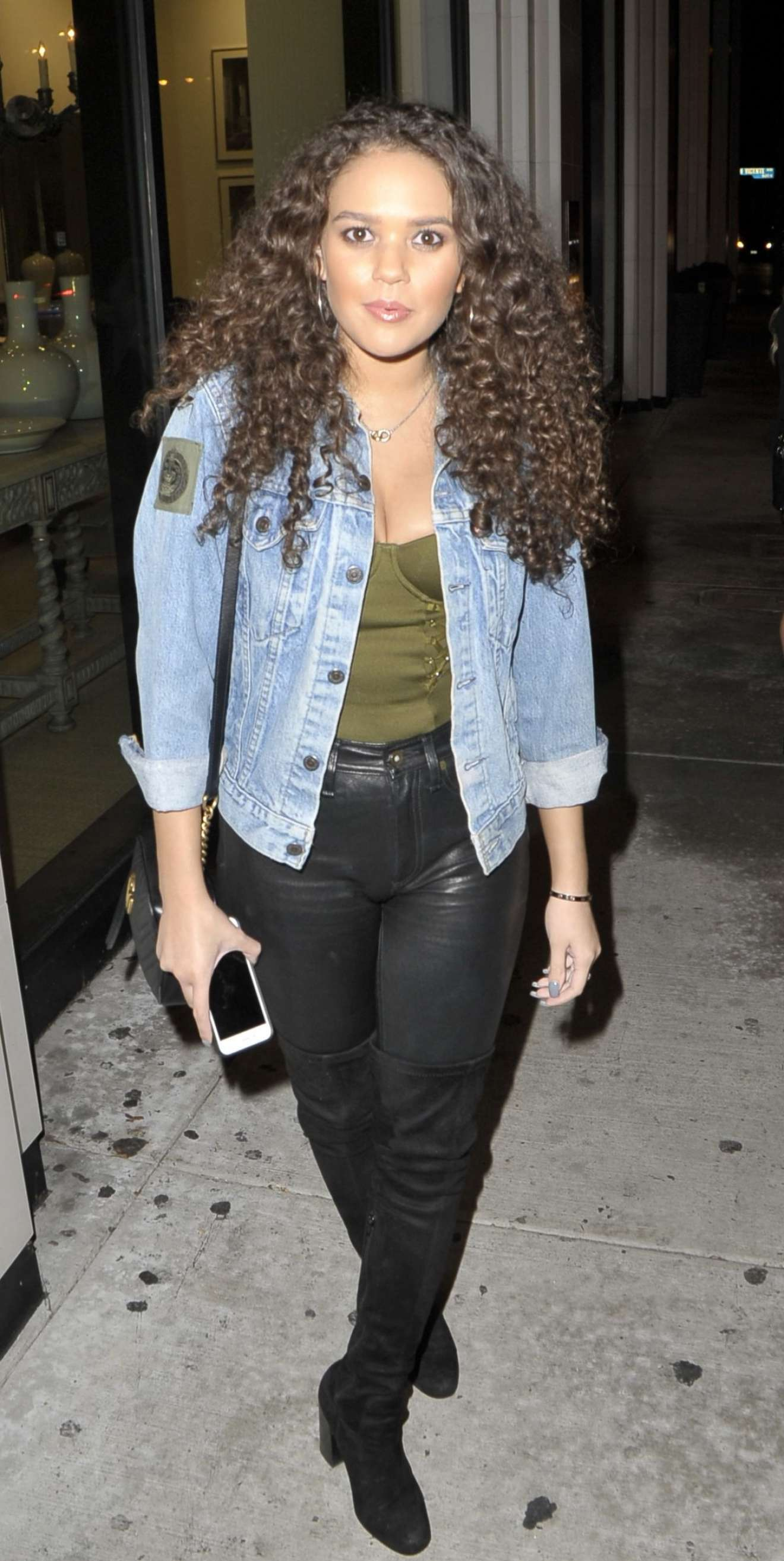 Madison Pettis 2018 : Madison Pettis: Seen at Catch LA In West Hollywood -01