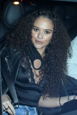 Madison Pettis - Seen leaving a dinner date with Chase Claypool in Los Angeles