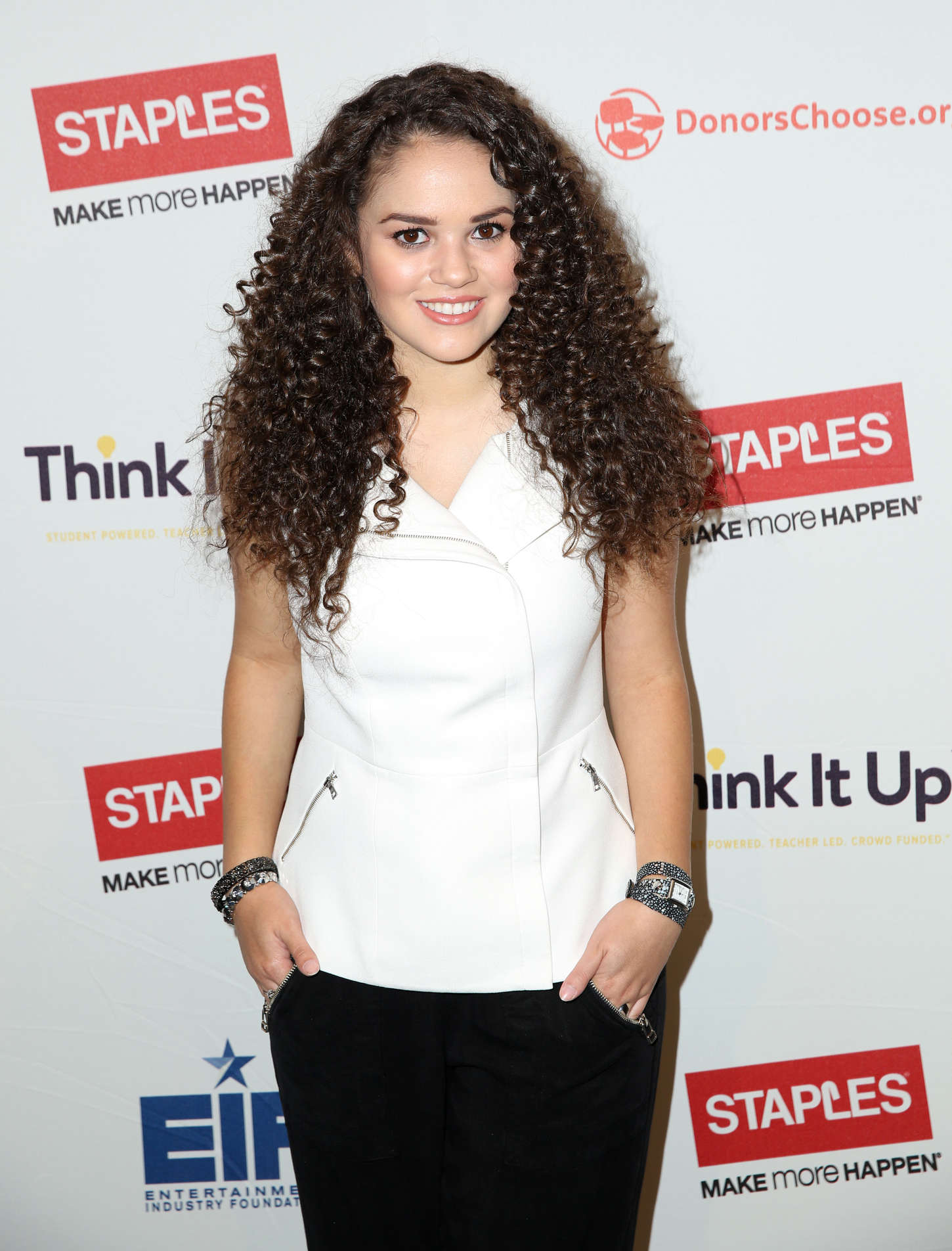 Madison Pettis - Staples 'Think It Up' Initiative press conference in Hollywood