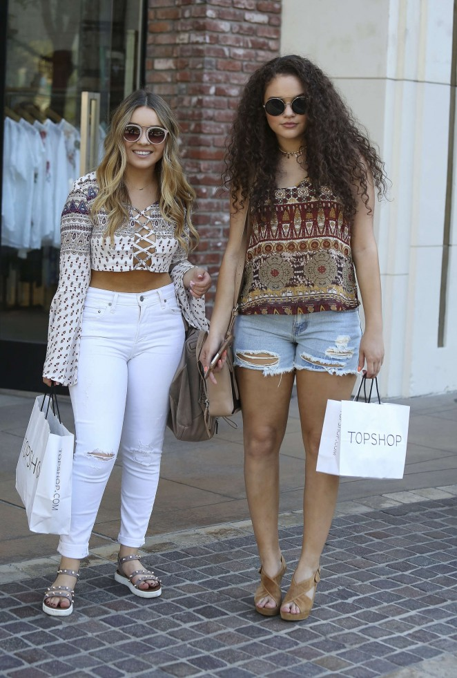 Madison Pettis & Torri Webster - The Grove in West Hollywood