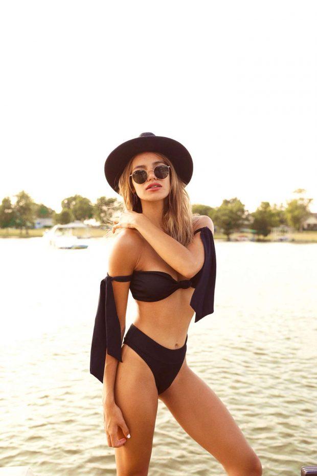 Madison Reed in Black Bikini - Personal Pics