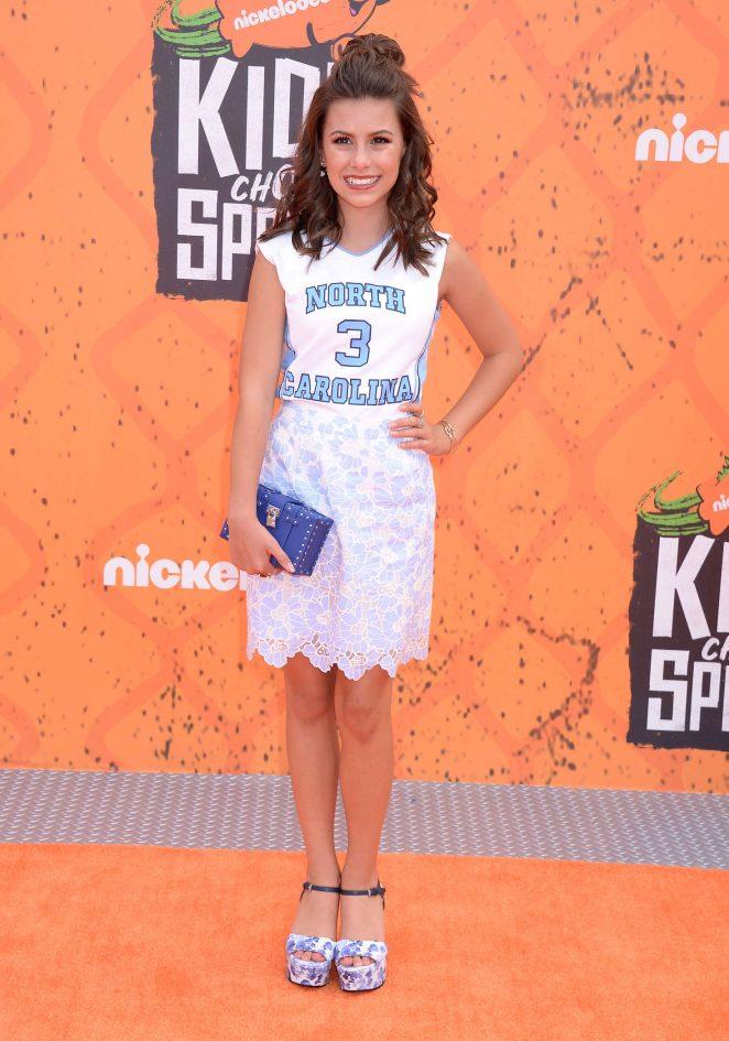 Madisyn Shipman - 2016 Nickelodeon's Kids' Choice Sports Awards in Westwood