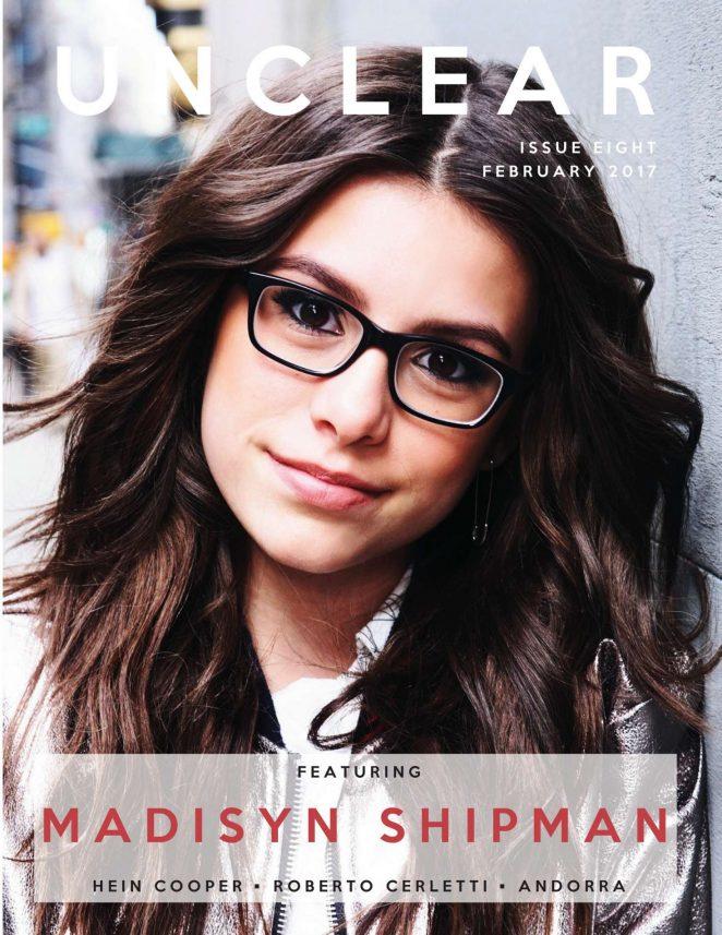 Madisyn Shipman - Unclear Magazine (February 2017)