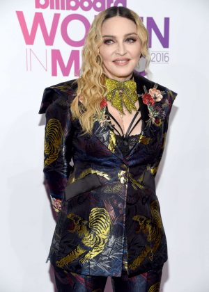 Madonna - 2016 Billboard Women in Music in NYC