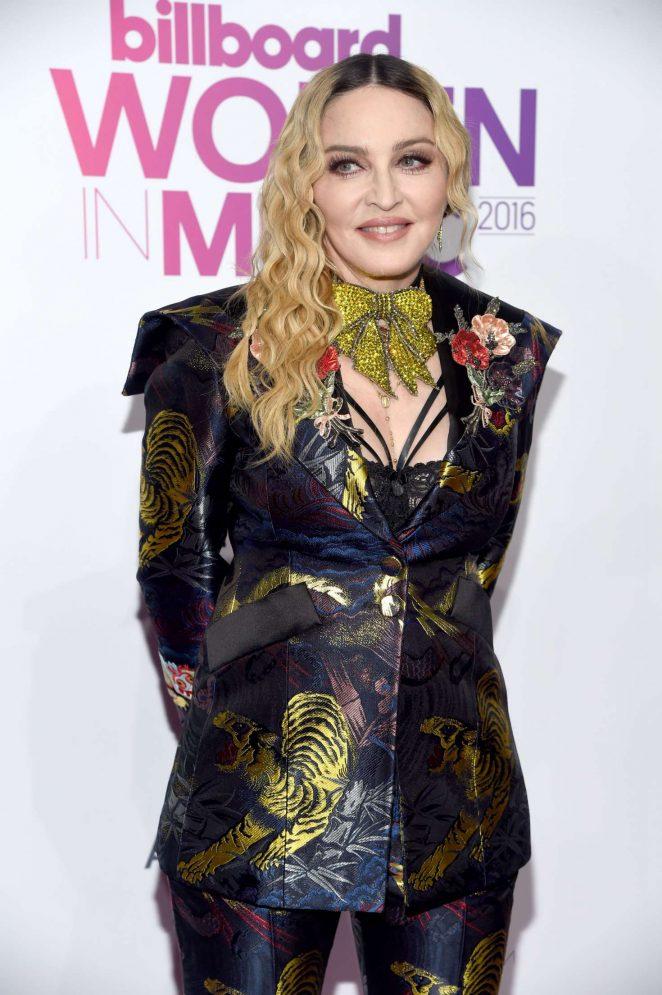 Madonna - 2016 Billboard Women in Music in NYC