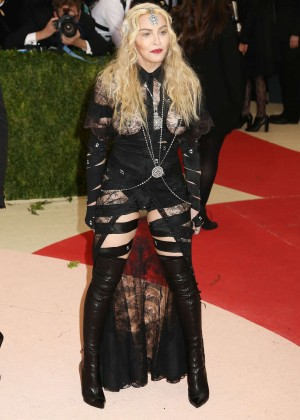 Madonna - 2016 Met Gala in NYC
