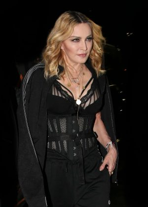 Madonna - Alexander Wang Spring 2017 Show in NY