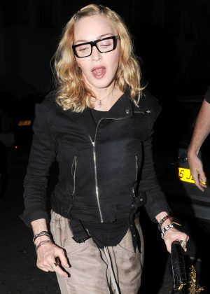 Madonna at Locanda Locatelli in London