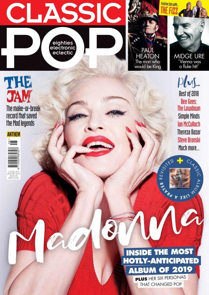 Madonna - Classic Pop Magazine (January 2019)