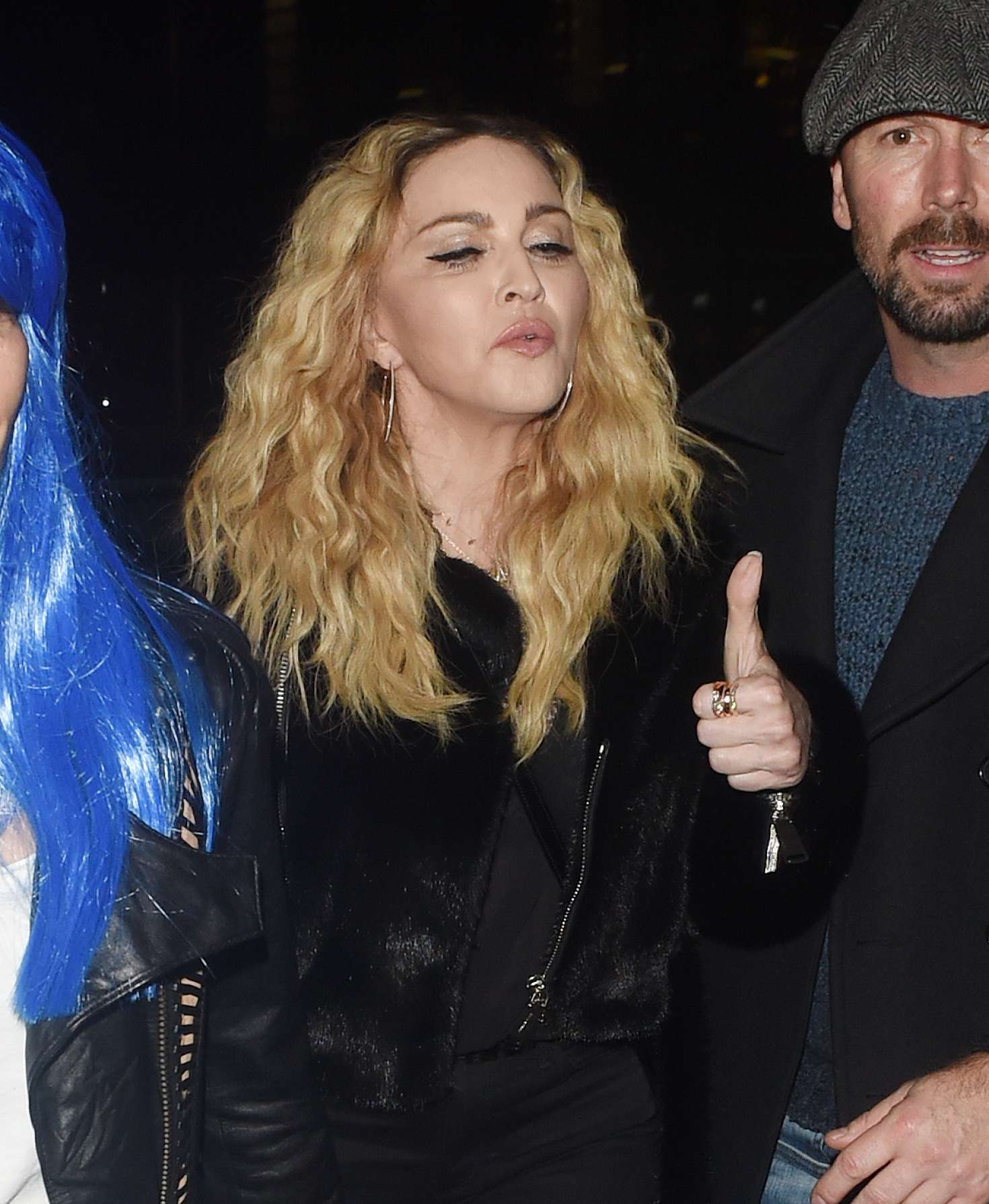 Madonna: Halloween Party at M Restaurant -08 - GotCeleb